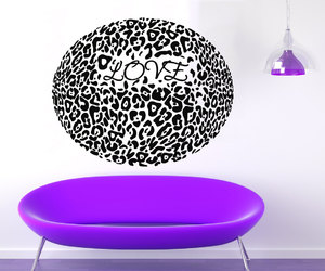 wall decals, wild animals, and love animals image