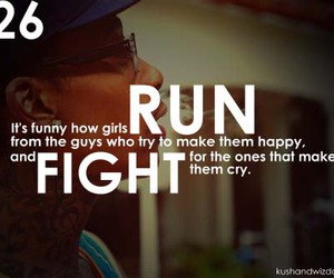 girl, quote, and fight image
