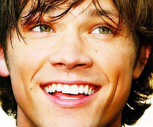supernatural, jared padalecki, and smile image