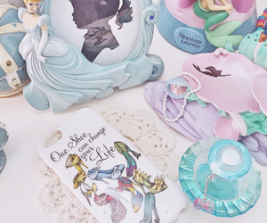 ariel, cinderella, and shoes image