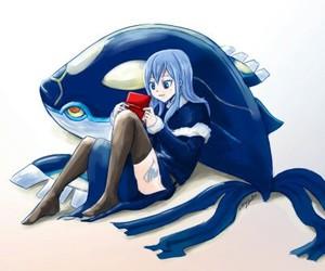 anime, water, and pokemon image