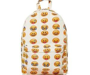 backpack and emojis image
