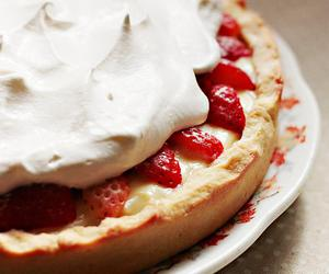 food, cute, and pie image