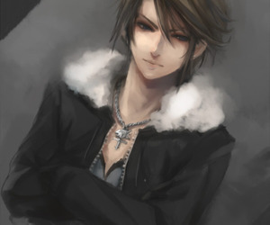 final fantasy viii and squall leonhart image