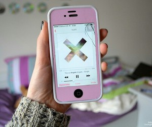 iphone, tumblr, and music image