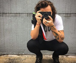styles, 1d, and harrystyles image
