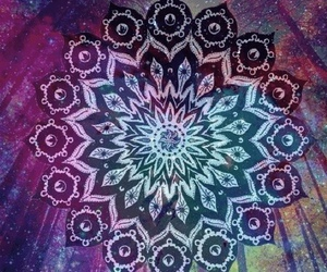 mandala, art, and galaxy image