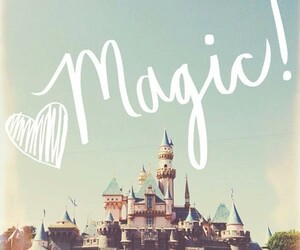 magic, disney, and castle image