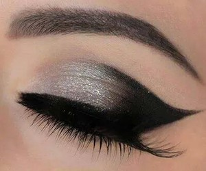 black, professional, and eyebrows image