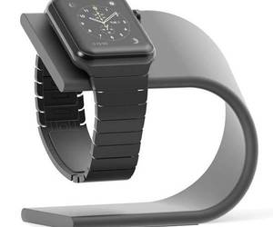 charging station, watch stand, and apple watch image