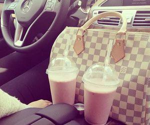 car, bag, and Louis Vuitton image