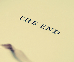 book, the end, and wallpaper image