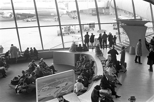 1960s, airplanes, and architecture image
