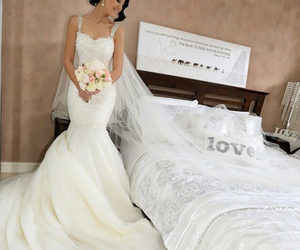 wedding, white, and love image