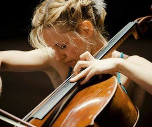 bass, beautiful, and cello image