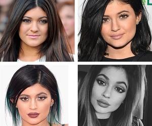 lips, kardashian, and jenner image