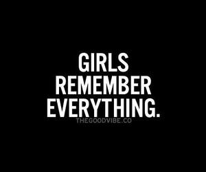 girl, remember, and everything image