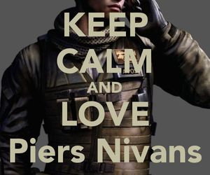resident evil, re6, and piers nivans image