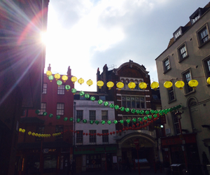 china town, london, and Sunny image
