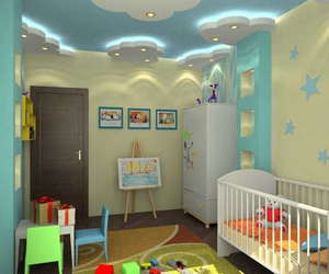 baby room, decor, and home decor image