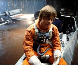 luke skywalker, star wars, and mark hamill image