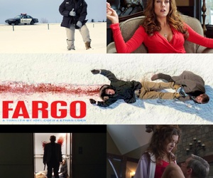 celebs, fargo, and snow image