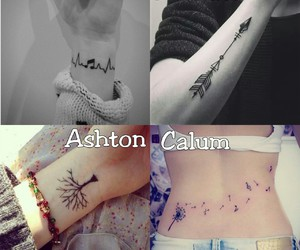 tatoo and 5sos image