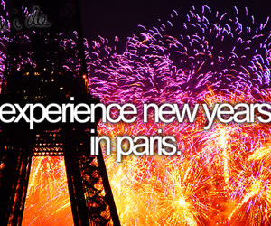 paris, new year, and before i die image