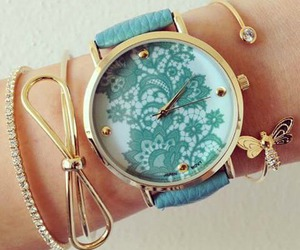 accessories, blue, and girl. image