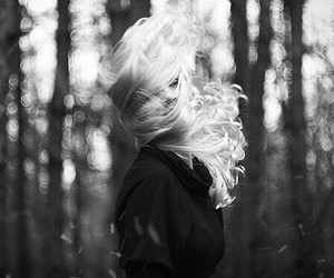 black and white, blow, and flickr image