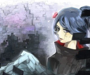 konan, naruto, and Paper image