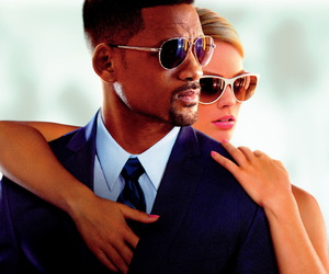 will smith, margot robbie, and focus image