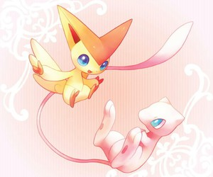 victini, mew, and pokemon image