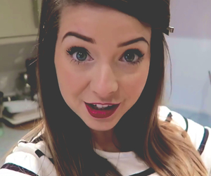 girl, youtubers, and zoella image