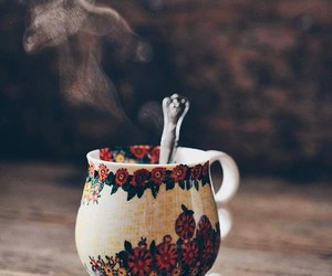 tea, cup, and coffee image