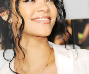 rihanna, singer, and smile image