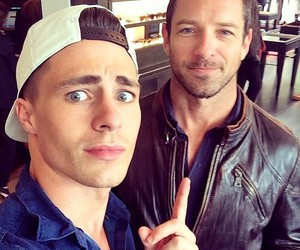 teen wolf, colton haynes, and ian bohen image