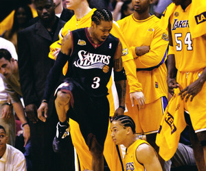 allen iverson, Basketball, and legend image