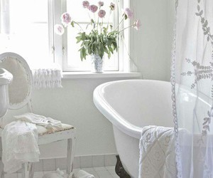 bathroom, white, and interior image