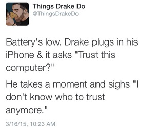Drake, funny, and twitter image
