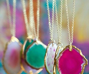 colour, girly, and jewelry image
