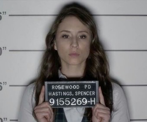 pretty little liars, spencer hastings, and jail image