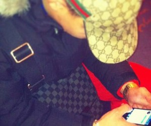 gucci, bg, and iphone image