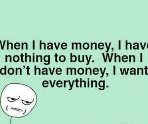 money, true, and funny image