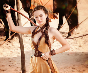 game of thrones, got, and nymeria sand image