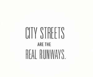 quote, city, and runway image