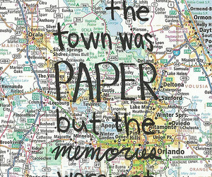 paper towns, quotes, and book image