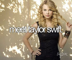 Taylor Swift and before i die image