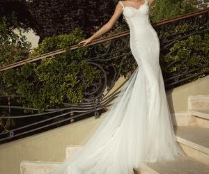 bride, wedding dress, and galia lahav image