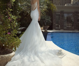 bride, wedding dress, and the empress image